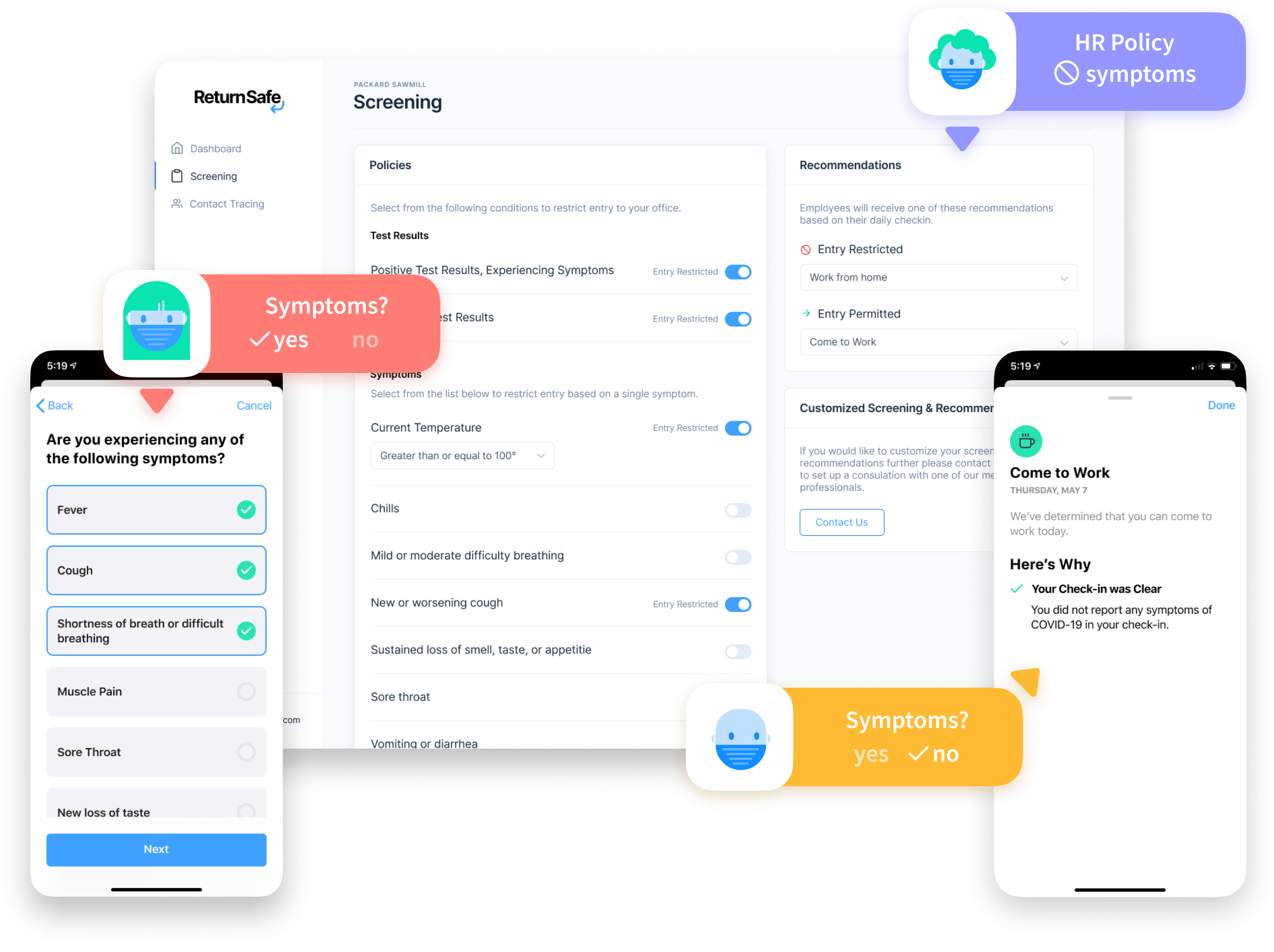 Portal and employee apps